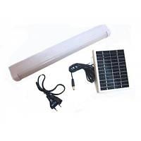 Аккумуляторный светодиодный фонарь с солнечной панелью Kingblaze GD-1040S, работает на двух аккумуляторах 4V 1