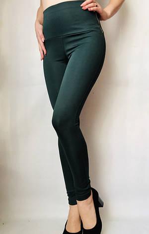 Женские лосины (норма) № 72 Зеленый, фото 2