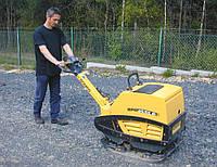 Трамбування щебеневої підготовки підлоги по грунті віброплитою 580 кг 74 кН, фото 1