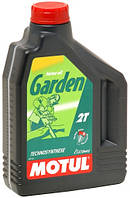 Масло для бензопилы , мотокосы , газонокосилки , культиватора 2Т полусинтетика MOTUL GARDEN 2T (2L)