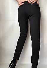 Женские брюки из трикотажа № 63 черные, фото 3