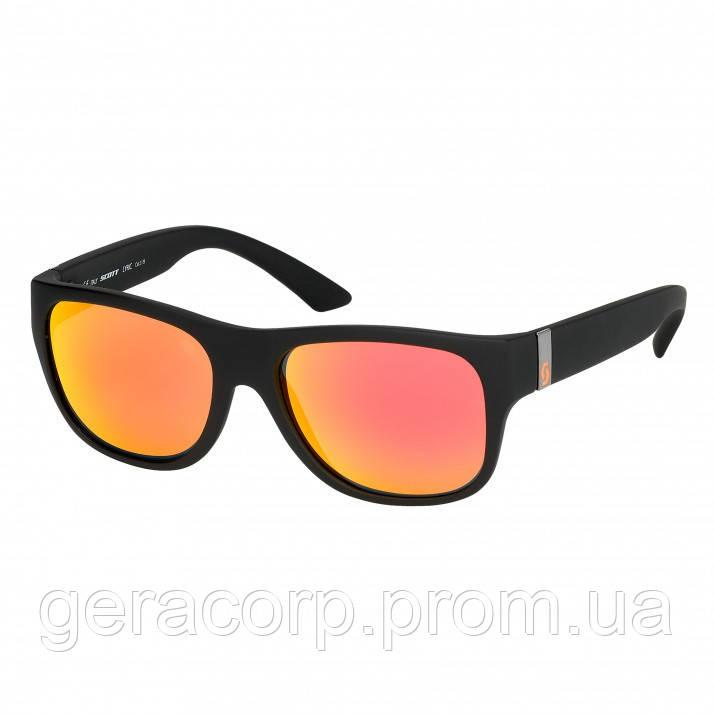 Спортивные очки SCOTT LYRIC black/orange red chrome