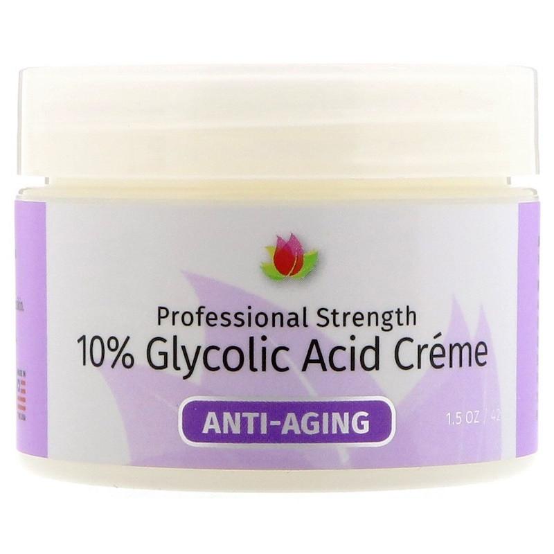 """Антивіковий крем з гліколевої кислотою Reviva Labs """"10% Glycolic Acid Cream"""" (42 р)"""