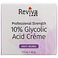 """Антивіковий крем з гліколевої кислотою Reviva Labs """"10% Glycolic Acid Cream"""" (42 р), фото 2"""