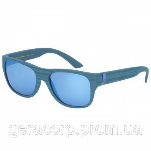 Спортивные очки SCOTT LYRIC blue matt blue chrome