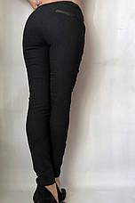 Коттоновые брюки  № 63 черные, фото 3