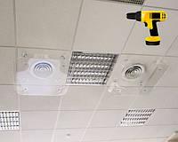 Монтаж потолочного дефлектора для кондиционера
