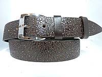 Женский Брючный кожаный ремень 3.5 см Коричневый