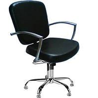 Парикмахерские кресла с хромированными подлокотниками