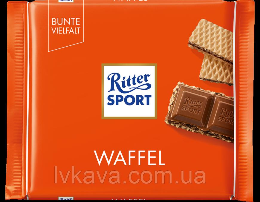 Молочный шоколад  Ritter Sport Waffel , 100 гр