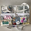 Сумка прозрачная в роддом Mommy Bag - L - 50*23*32 см Белая, фото 4