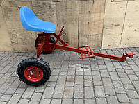 Адаптер до мотоблоку довгий (універсальна маточина)з колесами 4,00-8 (мотоблок) Булат