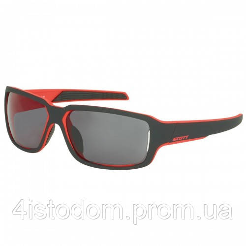 Спортивные очки SCOTT OBSESS ACS black matt/red grey