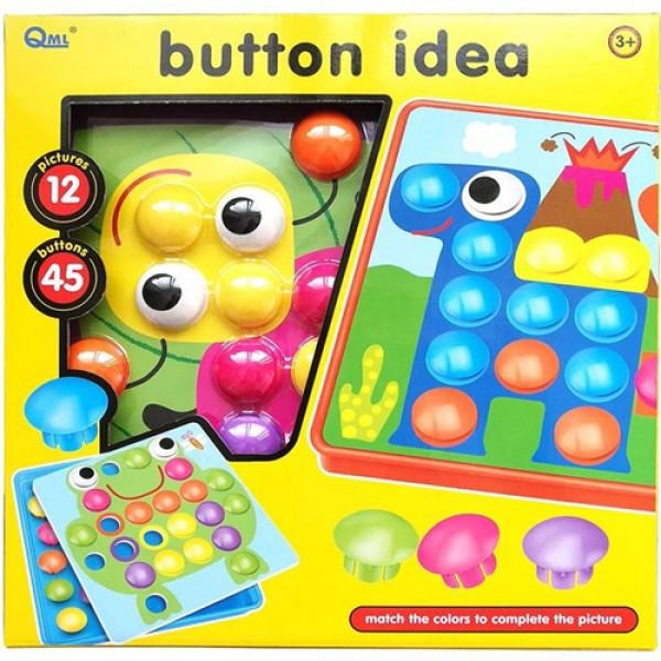Мозаїка «Button idea» Оригінал. Краща мозаїка для Вашої дитини
