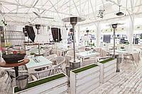Перегородки, ограждения, вазоныдля зонирования летних террас/ кафе/ дома/ дачи из натурального дерева.