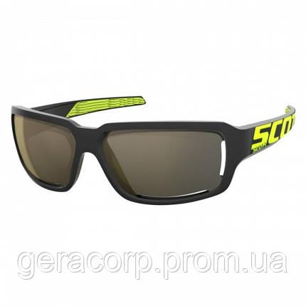 Спортивные очки SCOTT OBSESS ACS black/neon yellow gold chrome, фото 2
