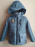 Куртка Класика для мальчика 1-6 лет демисезонная , фото 1