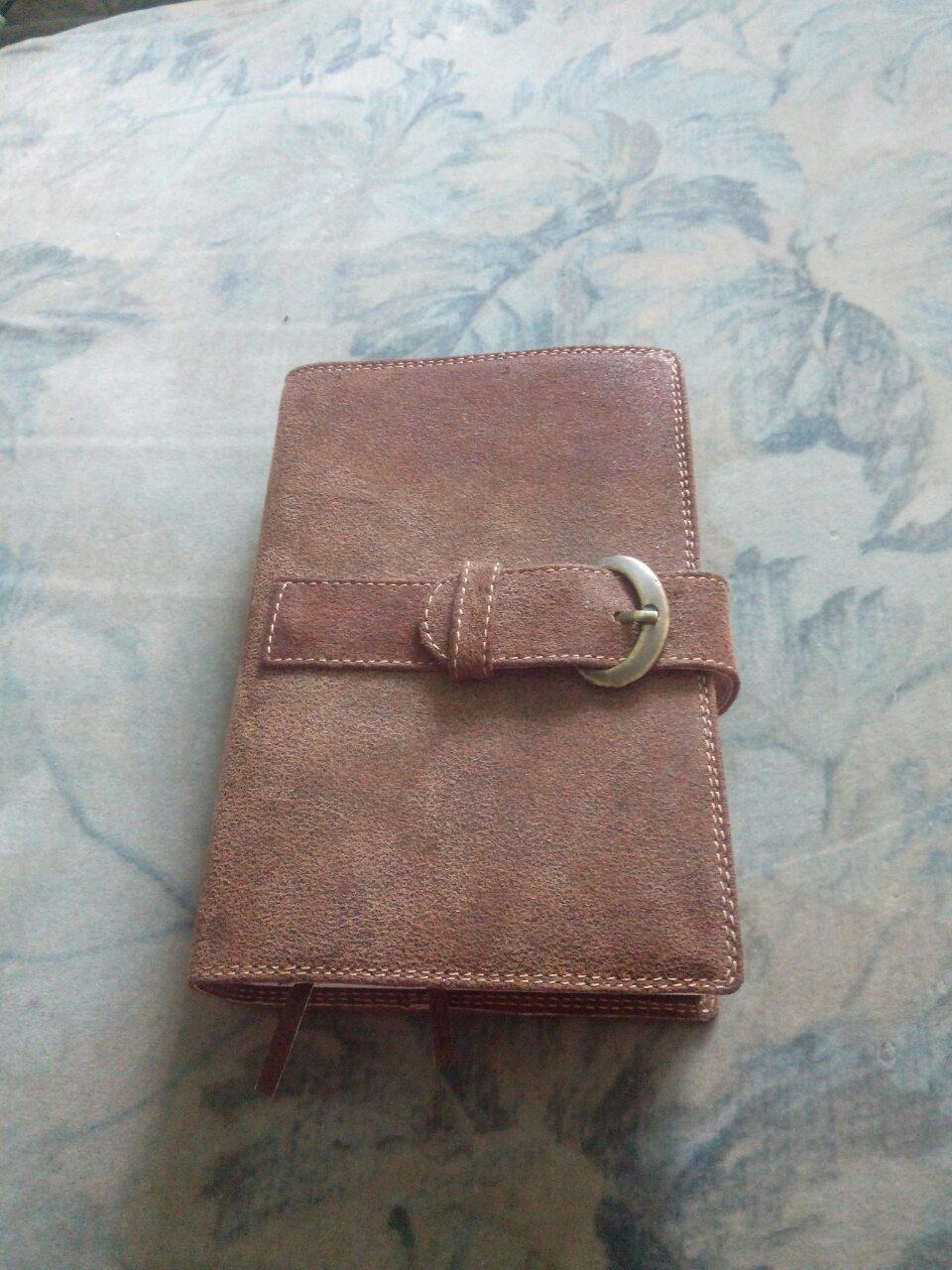 Обкладинка для блокноту щоденника бібліі
