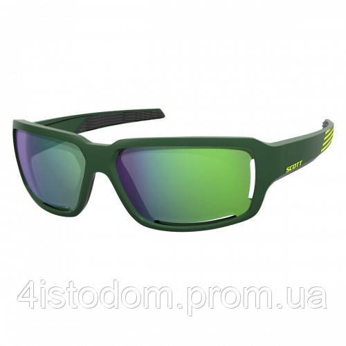 Спортивные очки SCOTT OBSESS ACS  green/yellow green chrome