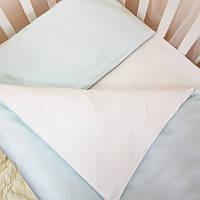 Комплект постельного белья Маленькая соня Универсальный мятный детский арт.030047