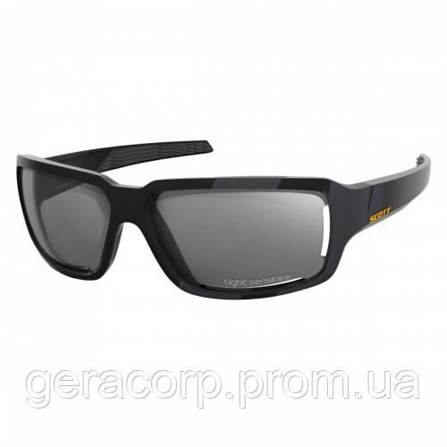 Спортивные очки SCOTT OBSESS ACS  LS black matt grey ls