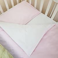 Комплект постельного белья Маленькая соня Универсальный розовый детский арт.030009