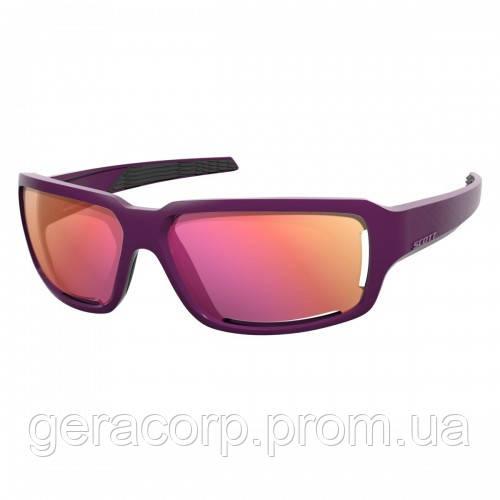 Спортивные очки SCOTT OBSESS ACS  purple pink chrome