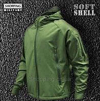 Куртка мужская Softshell олива тактическая Tactical Jacket Olive Camo-tec 1130847ff27d0
