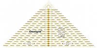 """""""Проворный"""" треугольник с сантиметровой шкалой, для 1/4 квадрата, до 20 см,Prym,Германия"""
