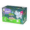 Підгузки Bella Happy 4 Mega Pack (8-18 кг) 132 шт.