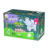 Підгузники дитячі Bella Happy 4 Mega Pack (8-18 кг) 132 шт, фото 1
