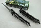 Нож тактический Strider Knives U.S.A. Титановое покрытие. Полуавтомат. , фото 4
