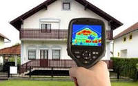 Тепловизионное обследование ограждающих конструкций.