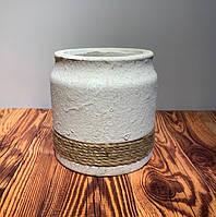 Кашпо декоративное керамика 4480
