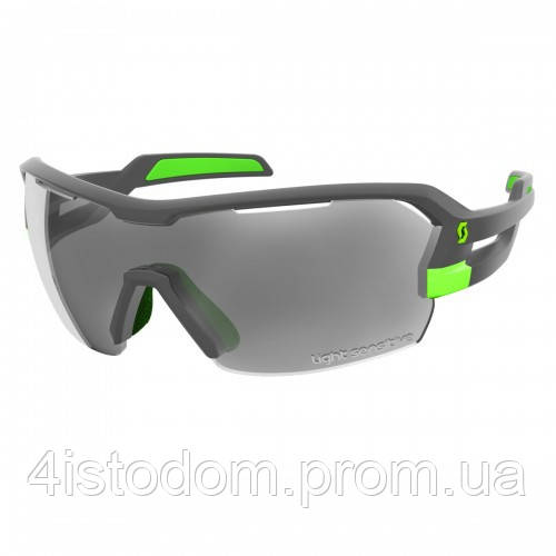 Спортивные очки SCOTT SPUR LS grey matt/green grey ls + clear
