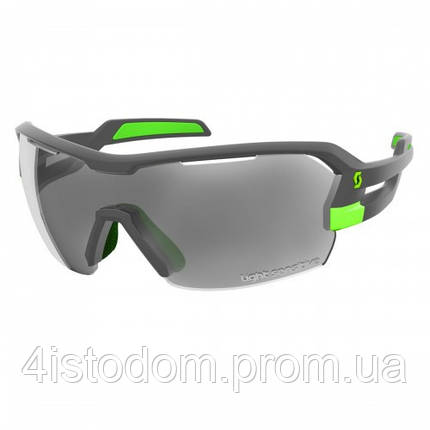 Спортивные очки SCOTT SPUR LS grey matt/green grey ls + clear, фото 2
