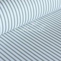 Ранфорс полоски серые 220 см, фото 1