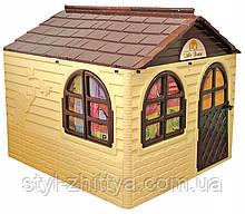 Ігровий дитячий будиночок з фіранками