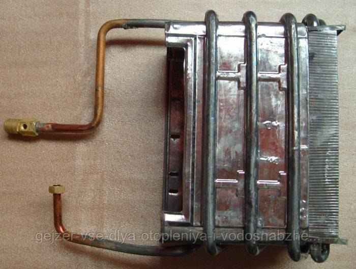 Теплообменник для газовой колонки Дион JSD-06