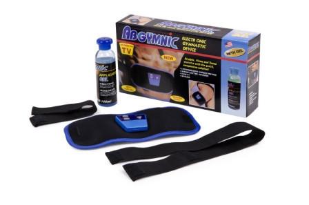 Масажер для схуднення ABGYMNIC | Пояс для схуднення +ГЕЛЬ, міостимулятор