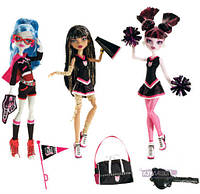Набор кукол Монстер Хай Черлидеры Ghoul Spirit Fearleading 3 Dolls