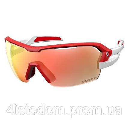 Спортивные очки SCOTT SPUR red/white red chrome amplifier + clear, фото 2