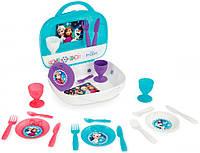 Набор посуды Frozen в кейсе, Smoby Toys, фото 1