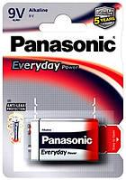 "Батарейка Everyday power ""Крона"" (Alkaline), 1 шт, Panasonic"