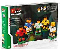 Конструктор с LED подсветкой, Soccer, Light STAX
