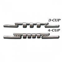Передняя защита ус Nissan Juke 2014- (ST009-15)