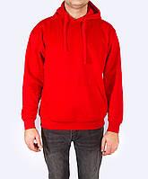 Худи, толстовка с капюшоном мужская, красная, JHK SWRA KNG (Испания) повседневная одежда, S - XXL