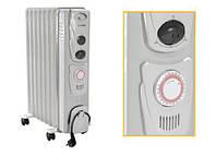 """Масляний електричний радіатор """"Термія"""", 10 ребер з таймером"""