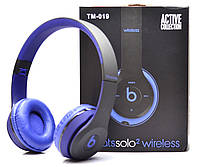 Беспроводные наушники Monster Beats Solo 2 by Dr.Dre Black Blue STN-19 b450bae02c525