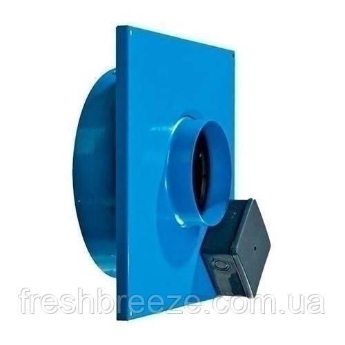 Канальний тихий витяжний вентилятор для монтажу в стіну Вентс вц-вк 250 б